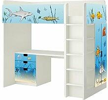 Unterwasserwelt Aufkleber - SH07 - passend für