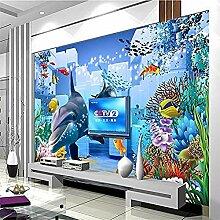 Unterwasserwelt Dolphin Box für Wände Wandbilder