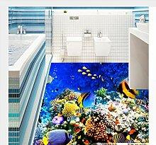 Unterwasserwelt Tropische Fische 3D Bodenbelag