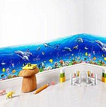 Unterwasserwelt Wandaufkleber Kinderzimmer Fish