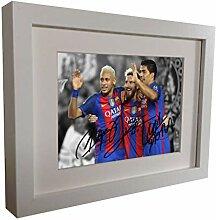 Unterzeichnet 2016/17Weiß Neymar Jr. Lionel