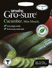 Unwins bebildertes Päckchen–Mini-Gurken F1–4Samen