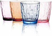 Unzerbrechliche Trinkgläser, Set von 4