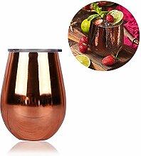Unzerbrechliches Weinglas mit Stiel, modernes