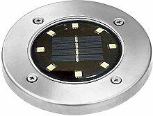 Uoging LED Solarleuchten, Bodenleuchte Garten 8