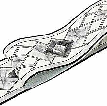 Uoisaiko PVC Tapete Bordüre Selbstklebend