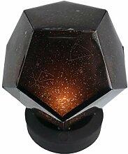 Uonlytech 3 Farbe Sternenhimmel führte Projektor