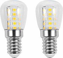 Uonlytech 4PCS LED Kühlschrank Glühbirne E14