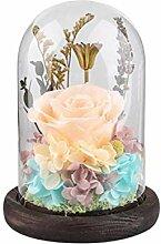 Uonlytech Blume Nachtlicht Rose Lampe Led Ewige