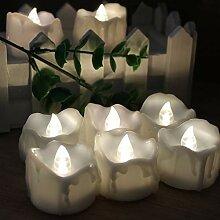 Uonlytech Flackerndes Kerzenlicht Fernbedienung