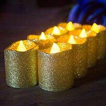 Uonlytech LED Teelichter, flammenloses