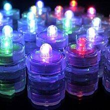Uonlytech LED Teelichter Kerzen 8Er Pack Bunte