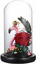 Uonlytech Rose Nachtlicht Lampe Flamingo Nacht