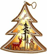 Uonlytech Weihnachtsschmuck Leuchten