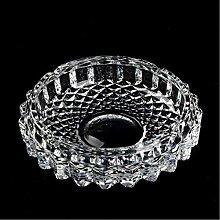 Uotyle Kristall Rund Glas Rauchen Aschenbecher