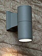 Up Down Lampe Außen Wandleuchte Fassadenstrahler