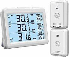 [Upgrade Version]ORIA Kühlschrank Thermometer