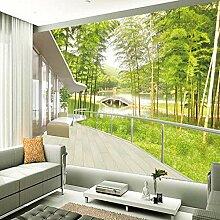 Upinfan 3D-Stereo-Wandbild für TV, Sofa,