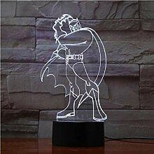 Upinfan Led Acryl 3D Illusion Lampe Mit 7 Farben