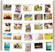 Uping Fotorahmen Mehrere Bilder Fotorahmen Holz