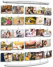 Uping Hängende Fotoanzeige Holz Wand Bilderrahmen