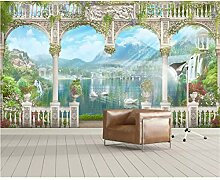 UPINT Tapete Für Wände 3 D Spalte Landschaft
