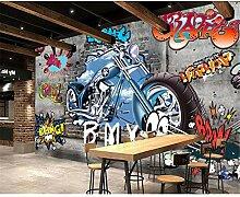 UPINT Tapete Für Wände 3D Graffiti Wandbild