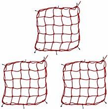 UPKOCH 3 Stück Gartenpflanze Spalier Netz Gummi