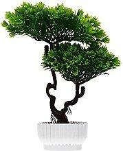 UPKOCH Künstliche Bonsai Baum Japanischen Kiefer