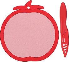 UPKOCH Mini Küche Bord mit Obst Messer Nette