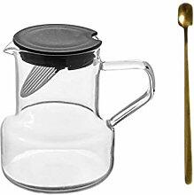 Upkoch Teekanne mit Filter, hohe