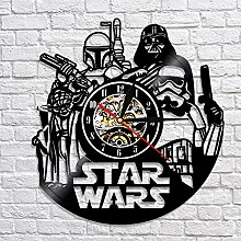 upnanren Rekordwanduhr kreative Retro Star Wars