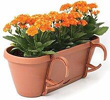 UPP Blumenkasten Blumentopf 50 cm universal