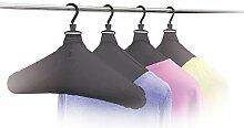 UPP Kleiderbügel aufblasbar 4 Stück für Hemden,
