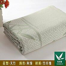 Upper-Bambus Faser Handtücher, Bettdecken, Decken, Handtücher aus Baumwolle, Sommer decken, D