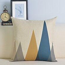 Upper-Bett das Kissen Kissenbezüge Kissenbezüge der lumbalen zurück riemen Kissen, 45 x 45 cm, D
