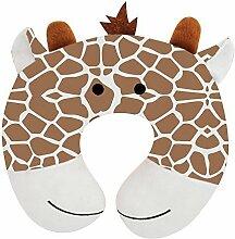 Upper Canada Soap Peek-A-Zoo Kid's Travel Neck Pillow, Giraffe by Upper Canada Soap