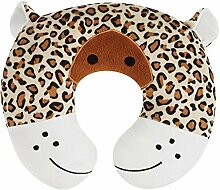 Upper Canada Soap Peek-A-Zoo Kid's Travel Neck Pillow, Leopard by Upper Canada Soap