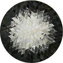 Upper-Leder Teppich nähen runden Teppich, Studie, Geometrie, Wohnzimmer, Tee- tisch Matte, Puzzle Block, Schlafzimmer, Bett, einer Decke, einem Teppich 1,5m - pl, 08.