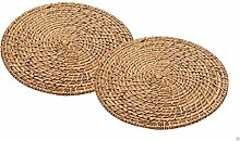 Upper-Platzdeckchen Nerchau runden Bambus Rattan Tischsets, Untersetzer, ARTPMPK 2 Ma