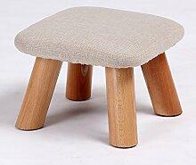 upper-Schuhputzmaschine Hocker Holz kleine Sitzbank mushroom Hocker Kinder Stuhl, Hocker Sohe