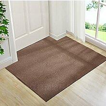 Upper-Ultra Thin pads Veranda Tür Tür Tür Fußmatte Fußmatte vor der Haushalt Teppich custom Cut, 120 x 150 cm, Kamel