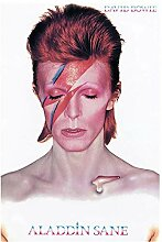 UpperPin David Bowie Sane Music Poster Dekorative
