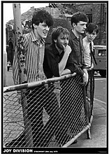 UpperPin Joy Division - Vintage Music Photo Poster