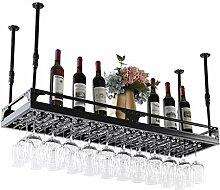 Upside Down Wandregal, dekorativ, Rotwein, Bar,