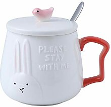 UPSTYLE Neuheit Funny Coffee Mug Cute Kaninchen