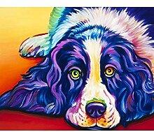 UPUPUPUP DIY Diamant malerei volle runde Hund