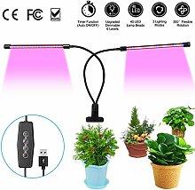 URAQT Pflanzenlampe LED 20W, Pflanzenlicht Wachsen