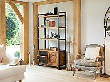 Urban Chic Large Bookcase with Storage - Baumhaus