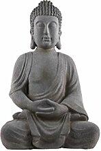 Urban Trends Fiberstone Meditierender Buddha Figur